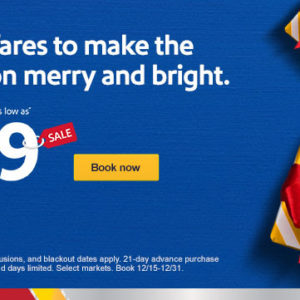 $49 fares to a merry little getaway