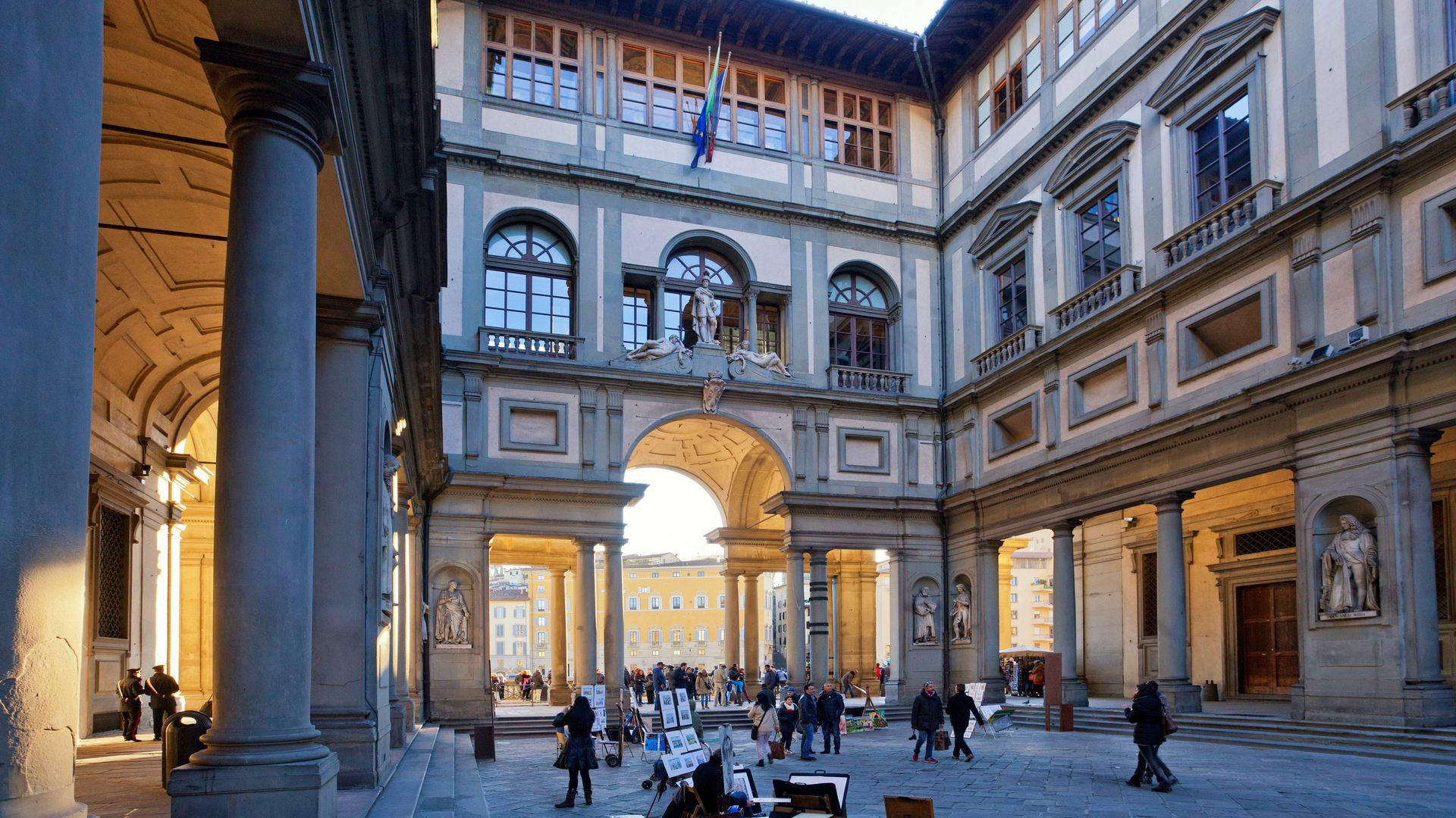 Uffizi Gallery in Florence Audio Guided Tour