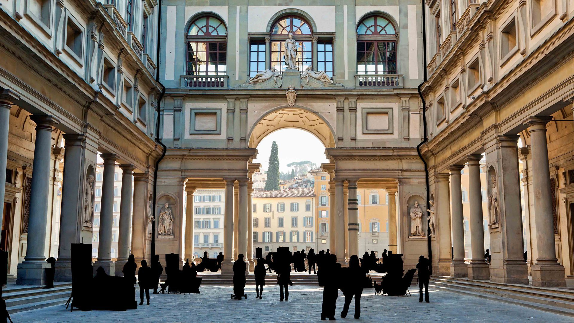 Urban Exploration and Visit to the Accademia and Uffizi Galleries